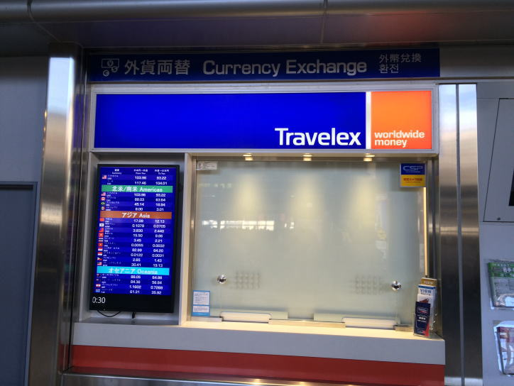 Picture Of Travelex Where You Can Get Anese Yen Also It